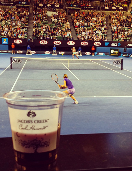aus open wine